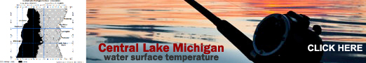Lake Michigan Temperature
